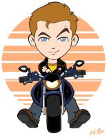 Jim Kirk and his Bike by kevinbolk