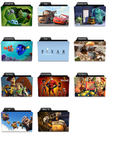 Pixar icons for Vista by codylcran