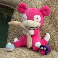 Slowpoke Plush by Patchwork-Shark