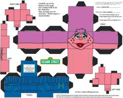 Muppets 14: Abby Cadabby Cubee by TheFlyingDachshund