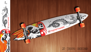 Custom Skateboard Deck by byCavalera