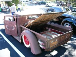 Rear View - Taillights - 1934 International ratty by RoadTripDog