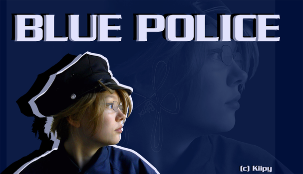 Blue Police by kiipy