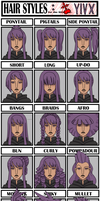 Yivx: Hair Meme by Miyanko