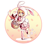 Easter Bunny by Nsio