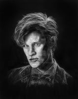 Matt Smith - the 11th Doctor by LKBurke29