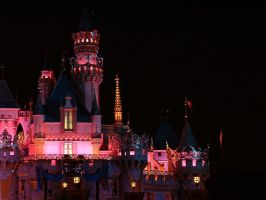 castle at night by ashley17