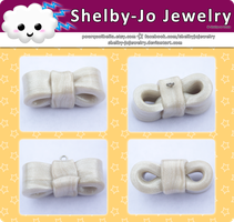 Pearl Bow Charm by Shelby-JoJewelry
