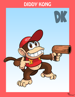 Smash Bros. Diddy Kong by SonicKnight007