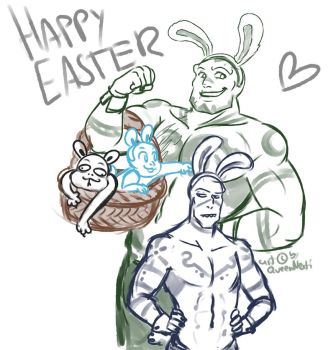 Happy Easter! by Akrav-Comic