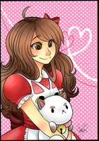 Bee and puppycat by Mangopoptart