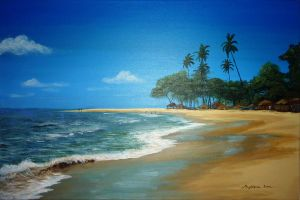 Beach of Sierra Leone #2 by Maggielet