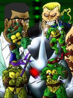 TMNT 4kids 2k3 by PowderAkaCaseyJones