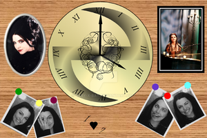 Ev Clock with Pictures by Baby-x-Bat