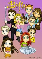 Buffy Season 2 Cast by girl0in0question