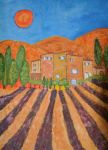 a day in provence by ingeline-art