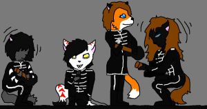 The Furry Parade (complete) by littleblackmariah