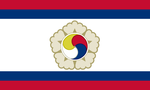 Flag of Republic of United Korea by CoralArts