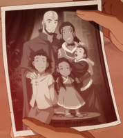 Aang's Family by JDSlasha