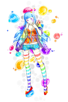colorful dreaming by momijigirl