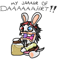 Jack Sparrow Rabbid by zimpy222