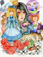Alice in Wonderland by Hachiyo