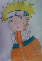 Naruto colored by SilentTalent