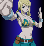 Lucy Heartfilia: I will fight also! by Mifang