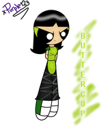Beautiful Worker : Buttercup from the PPG. by xPurple123