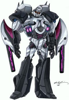 Megatron X- Colors collab by JazylH