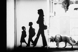 Walking together by mariomencacci