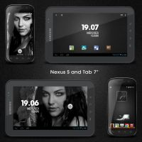 nexus s and galaxy tab 7 by marcarnal
