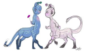 Baby Andalites by CharReed