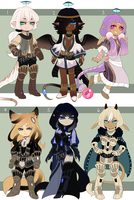 (CLOSED) Adopt Set 8 by TerraTerrific