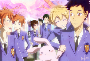 Ouran High School Host Club by ashflura