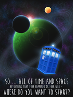 Matt Smith Poster by drawponies
