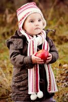 Ema with apple by MaryaS