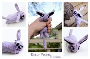 Espeon Plush by BeeZee-Art