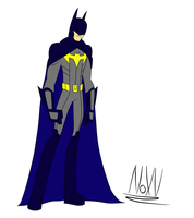 My Batman: Design 1 by NoXV