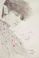Zitao fanart - Neverland: Portrait of the Night by e11ie