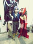 Pitt, Yaya-Han and Riddle by Nao-Dignity