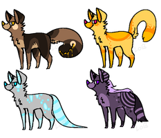 Canine Adopts 3 by LobsterAdopts