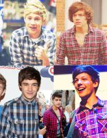 One Direction Plaid by nommynee