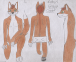 Commission - Nathan Tarnung Reference Sheet by moshie9956