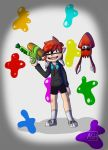Splatoon Inkling OC Ash by starscream96