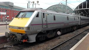 East Coast 91127 at Newcastle by The-Transport-Guild