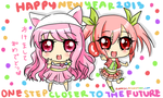 Happy New Year 2013! ^^ by riamisu