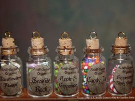 Steampunk Candy Jars by Ambient-Lullaby