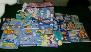 My Phineas and Ferb collection (UPDATE) by Edness-Madness