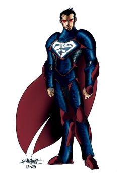 superman concept art by RM73